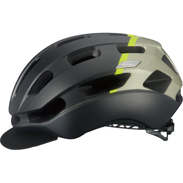 OGKカブト KOOFU(コーフー) BCグロッスベ2 マットブラックイエロー ヘルメット