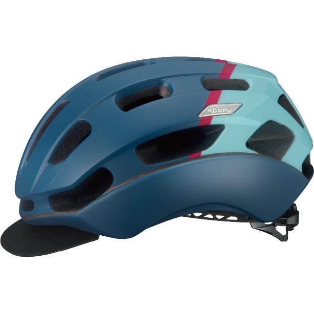 OGKカブト KOOFU(コーフー) BCグロッスベ2 マットネイビーピンク ヘルメット