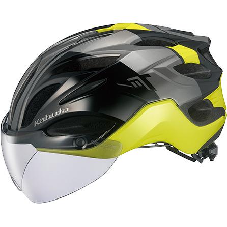 OGKカブト ヴィット(VITT) G-1 ブラックイエロー ヘルメット