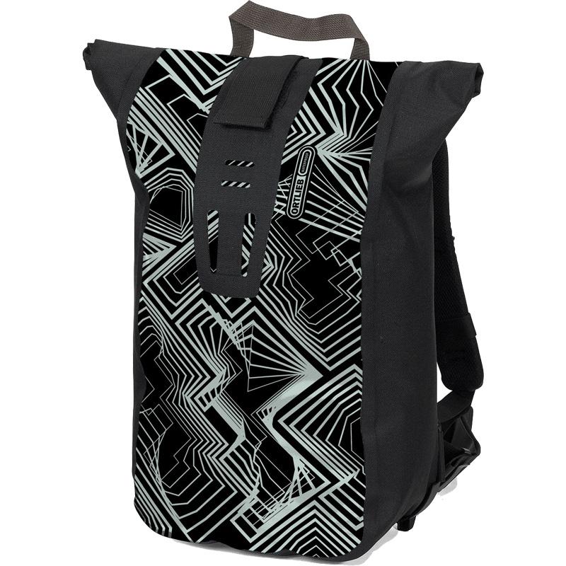 オルトリーブ ヴェロシティ デザイン R4091 ブラック/アイスホワイト(カレイドスコープ)