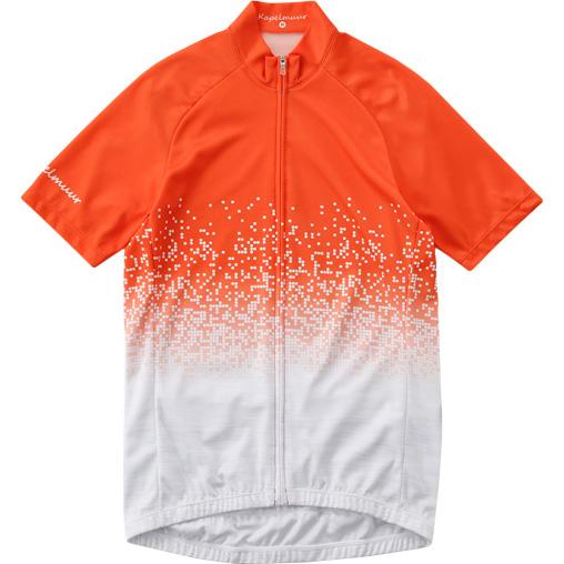 カペルミュール 半袖ジャージ ピクセルシャワー オレンジ