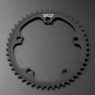スギノ SSG144 ブラック チェーンリング 【自転車】【トラック・ピストパーツ】【チェーンリング(PCD】【144mm)】