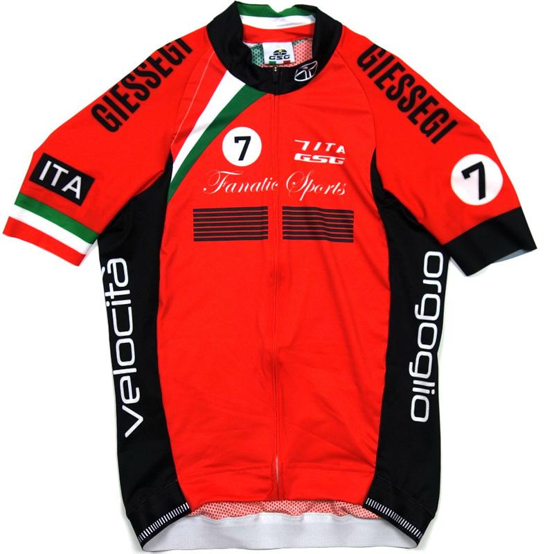 セブンイタリア Seven Racing Jersey レッド