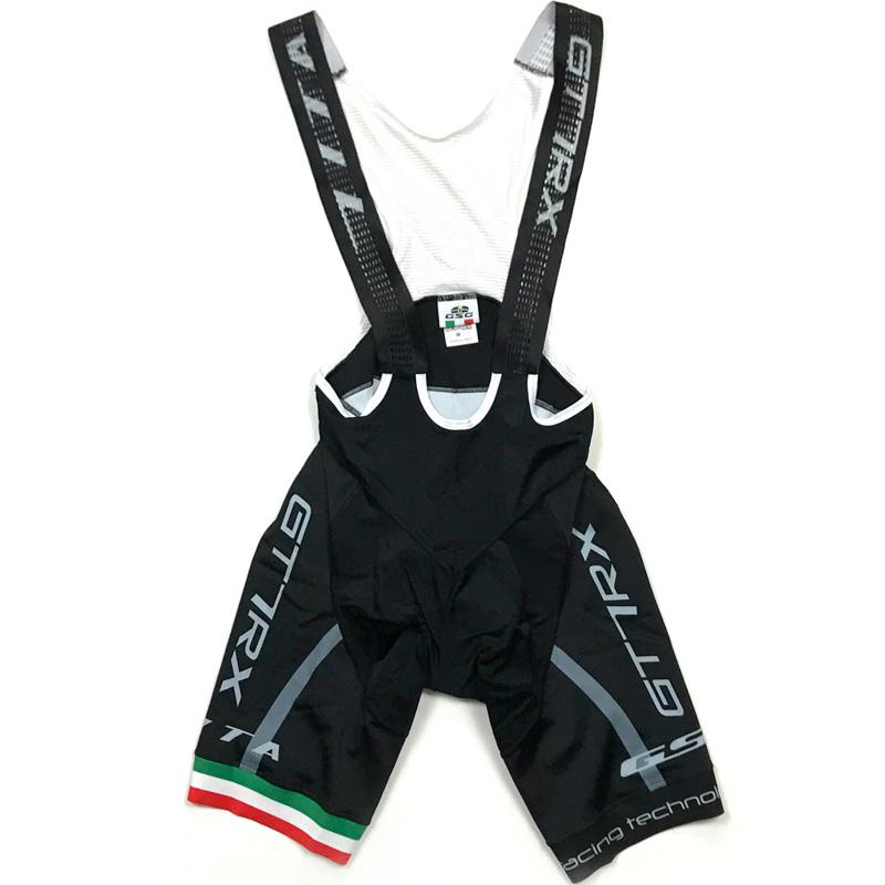 セブンイタリア GT-7RX Bibshorts ブラック/グレー