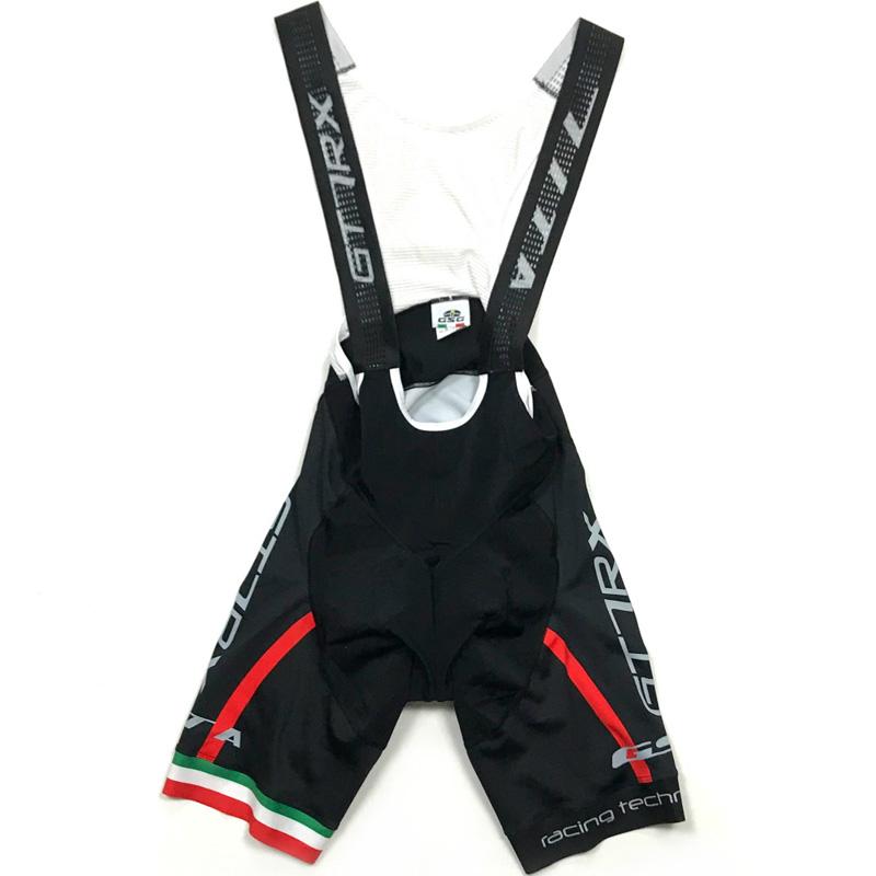 セブンイタリア GT-7RX Bibshorts ブラック/レッド