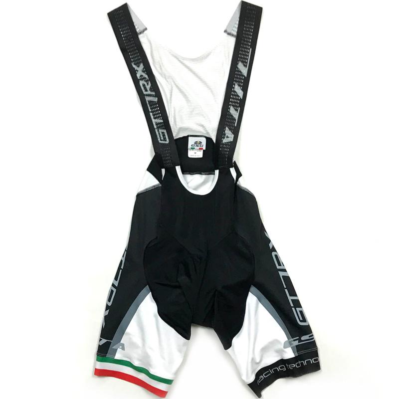 セブンイタリア GT-7RX Bibshorts ホワイト/ブラック