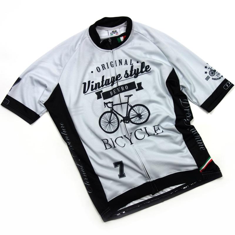 セブンイタリア Vintage Vintage Bicycle Bicycle Jersey Jersey グレー, バラプレゼント*アルトルミナーレ:0b3dbc23 --- wap.cadernosp.com.br