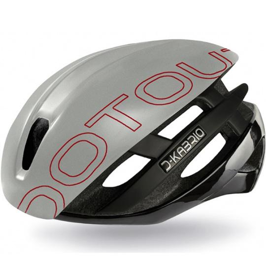 【特急】ドットアウト KABRIO(カブリオ) HT.2 03.シャイニーブラック/マットグレー ヘルメット