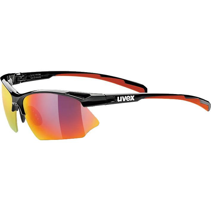 ウベックス sportstyle 802 ブラック(レッド) サングラス