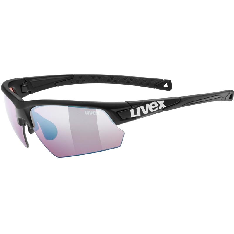 ウベックス sportstyle 224 colorvision ブラックマット(アウトドア) サングラス