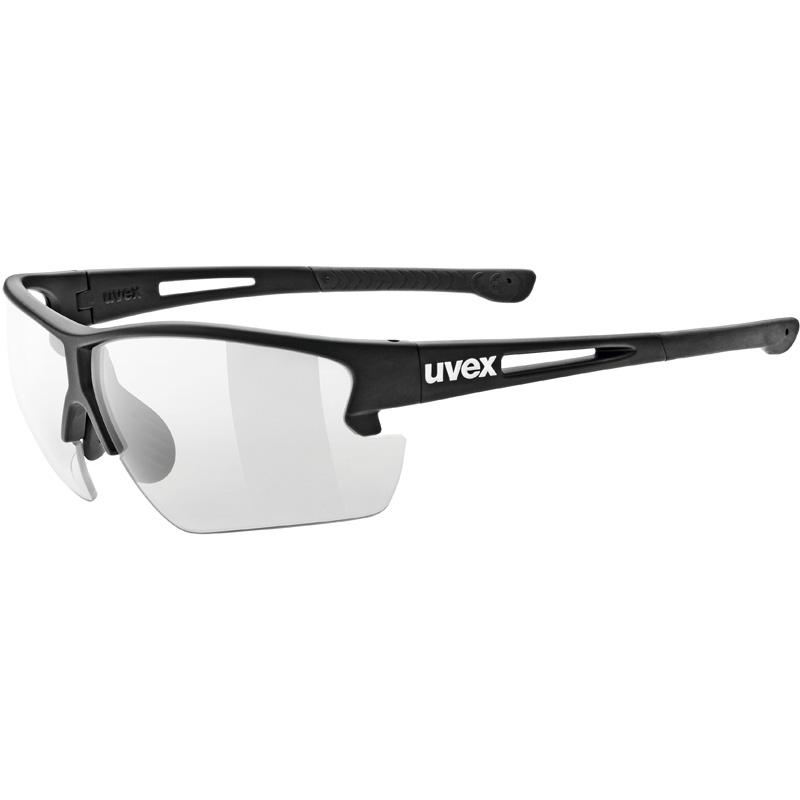 ウベックス sportstyle 812 v ブラックマット サングラス(調光レンズ)
