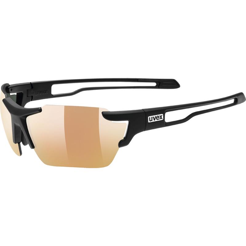 ウベックス sportstyle 803 colorvision vm small ブラックマット サングラス(調光レンズ)