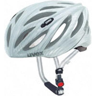 ウベックス BOSS RACE カーボンルックホワイト ヘルメット