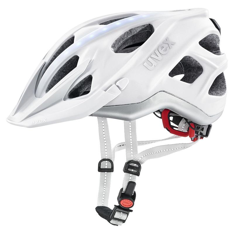 ウベックス CITY LIGHT ホワイトマット ヘルメット