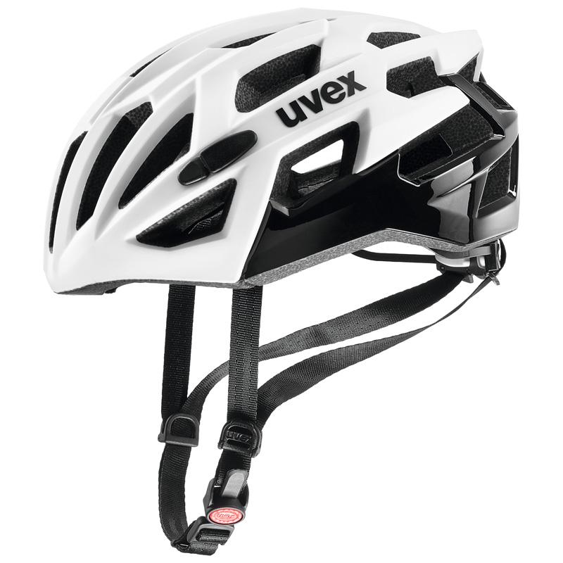 ウベックス RACE7 ホワイト/ブラック ヘルメット