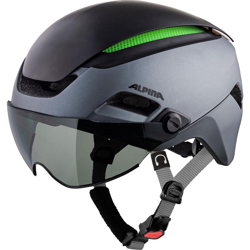 アルピナ ALTONA VM チャコール/アンスラサイト ヘルメット