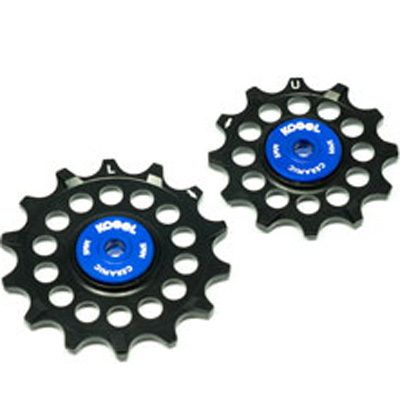 コゲル 12/14T Oversied pulleys for Sram Eagle ブルー/ブラック