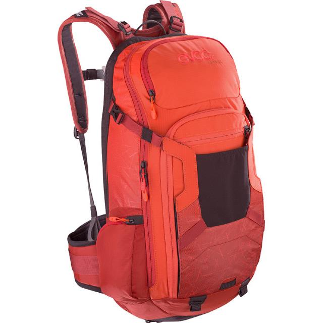 イーボック FR TRAIL オレンジ/チリレッド M/L 20L プロテクターバックパック