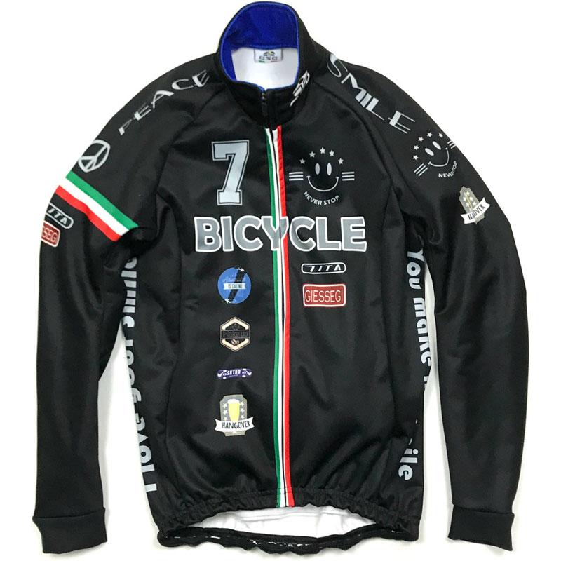 セブンイタリア Smile Stadium 2 Jacket ブラック