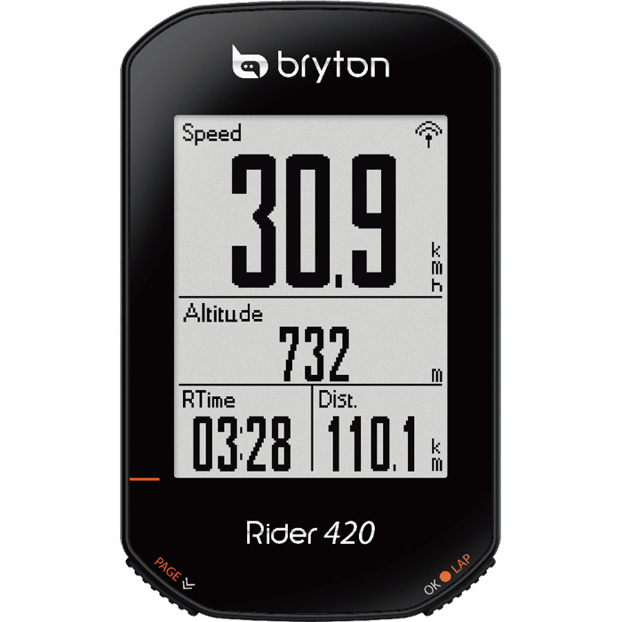 送料無料 ブライトン 海外 Rider420E 本体のみ 定番から日本未入荷 GPS