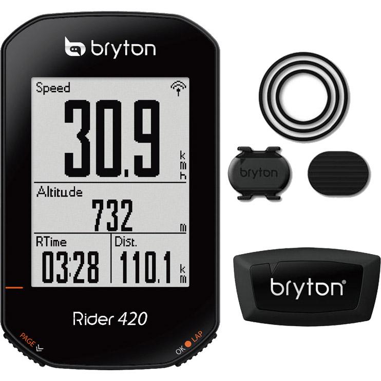ブライトン Rider420T キット(ケイデンス、心拍センサー付) GPS