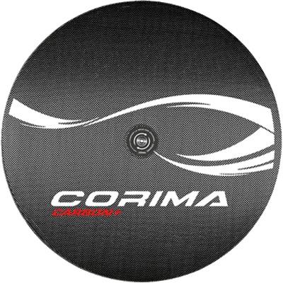 コリマ LENTICULAR DISC CARBON+ チューブラーホイール 700C ピスト用 後のみ