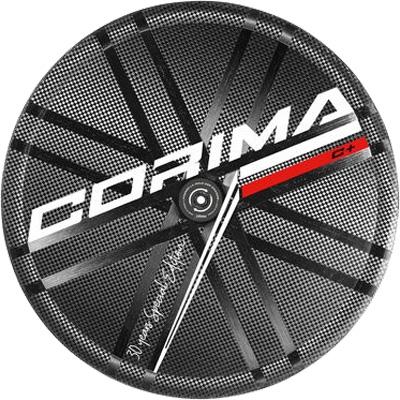 コリマ WS TT C+ ディスクブレーキホイール 700C カンパニョーロ用(9・10・11段) 後のみ