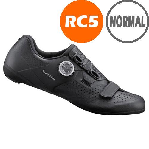 【SALE】シマノ RC5(SH-RC500) ブラック ノーマルタイプ SPD-SL シューズ 190809