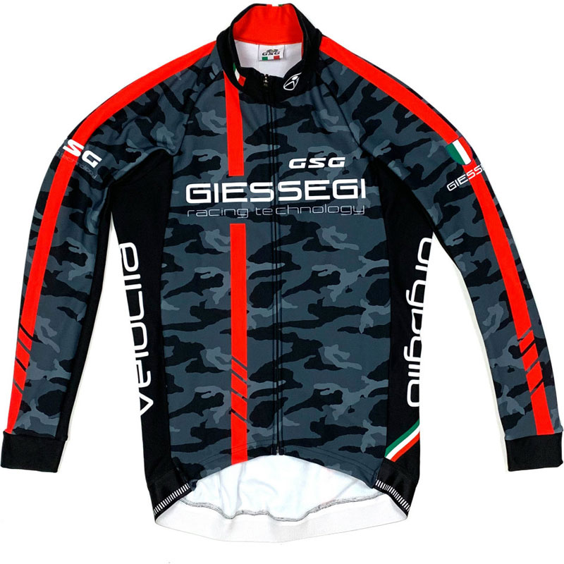 GSG GZ-R 2 LS Jersey カモ/レッド