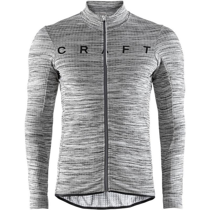 クラフト Reel Thermal Jersey M Dk グレイメランジ/ブラック