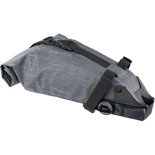 イーボック シートパック BOA Lサイズ 3L カーボングレー サドルバッグ