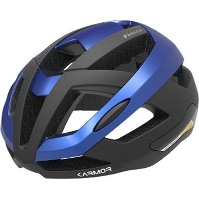 カーマー FIANZA(フィアンザ) ブラック/ブルー ヘルメット Karmor