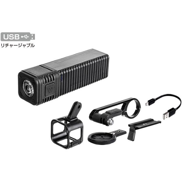 トピーク キュビキュビ 1200 ヘッドライト USB充電