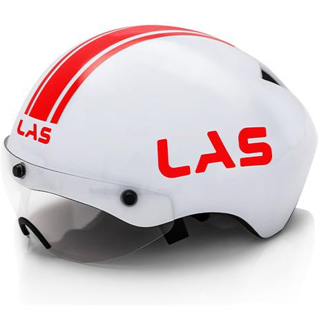 ラス CRONO ホワイト/レッド ヘルメット