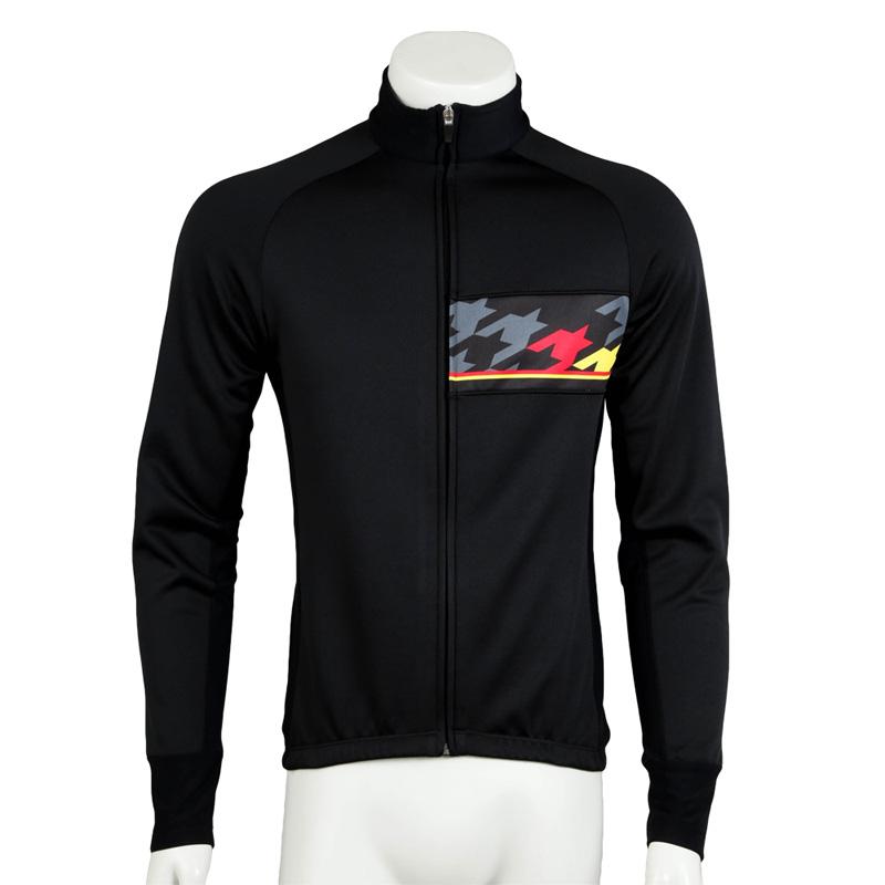 リオン・ド・カペルミュール レーシングサーモジャケット ビッグチドリ ブラック