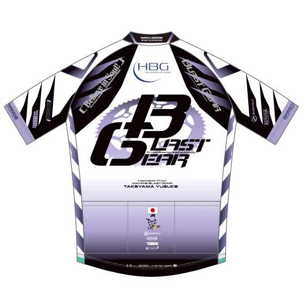 【代引不可】KASOKU 「オーメストグランデ」 サイクルジャージ 2050年モデル 『チーム:ブラストギア』 200502 【予約商品】