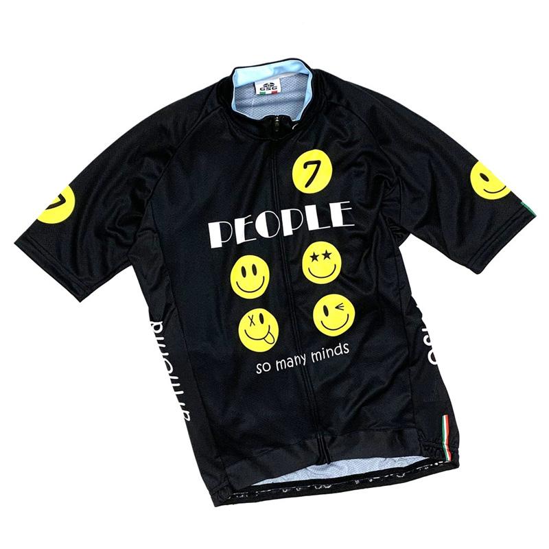 セブンイタリア So Many Smile Jersey ブラック