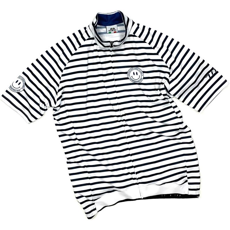 セブンイタリア Stripe Jersey ホワイト/ネイビー