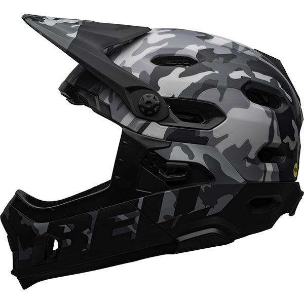 ベル スーパー DH MIPS ブラックカモ ヘルメット