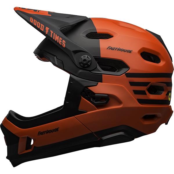 ベル スーパー DH MIPS レッド/ブラック ヘルメット