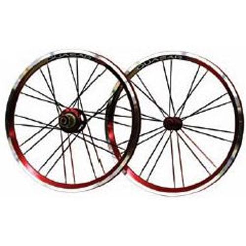 Q2 QUASAR 20インチ WHEEL SET 【自転車】【小径車パーツ】【ホイール】
