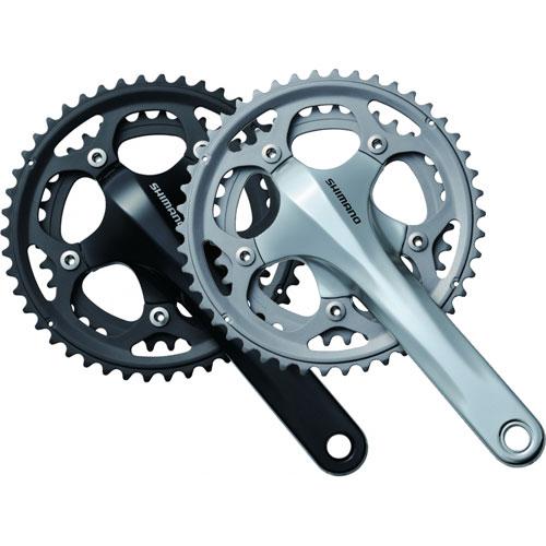 【自転車】【マウンテンバイクパーツ】 FC-CX50 ダブル/2ピースクランク構造 クランクセット シマノ シクロクロス用