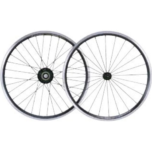 パワーツールズ 20インチ Black/CNC WHEEL 前後セット 【自転車】【小径車パーツ】【ホイール】