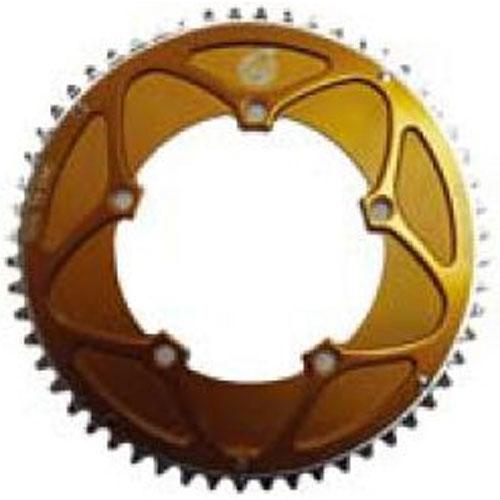パワーツールズ NCN GOLD MINI VERO チェーンリング 2枚セット 【自転車】【ロードレーサーパーツ】【PCD130mm用チェーンリング】【パワーツールズ】