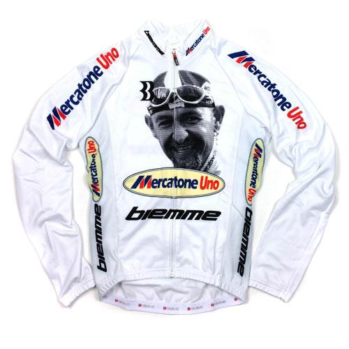 【SALE】ビエンメ Marco Pantani LS Jersey ホワイト