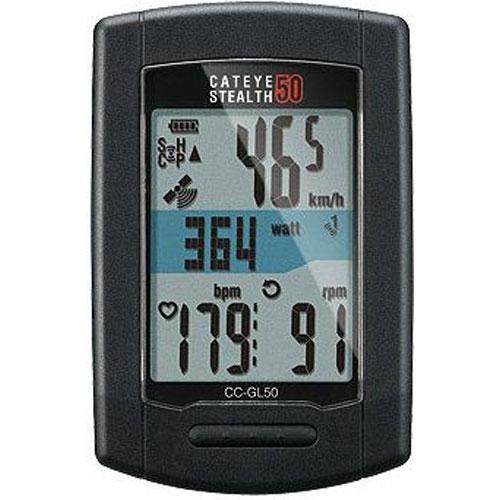 キャットアイ CC-GL50 ステルス50 ワイヤレス GPS USB充電