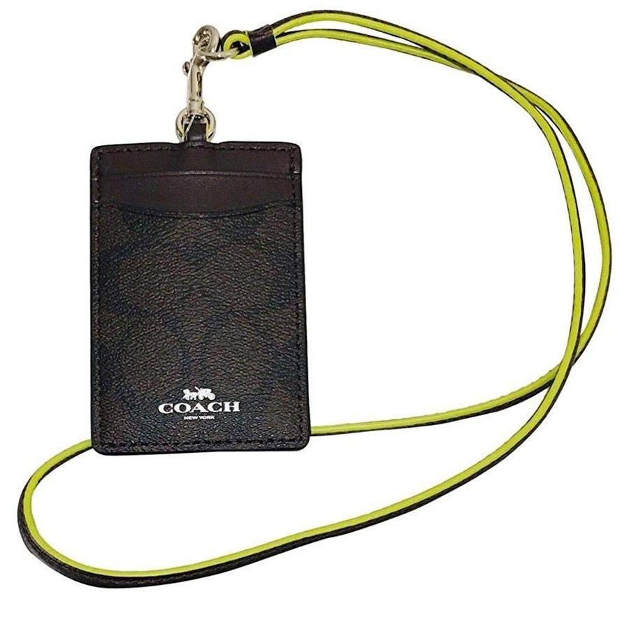 【新品】コーチ COACH 財布 IDケース カードケース シグネチャー F39211 アウトレット レディース コーチギフトボックス付き