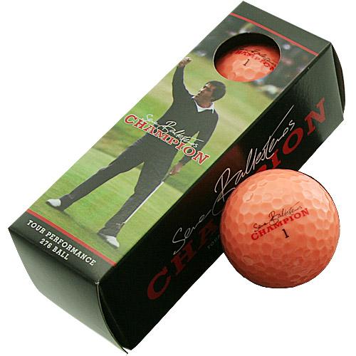 380ディンプルで究極の直進性能 MDゴルフ セベ チャンピオン ボール 秀逸 オレンジ スリーブ販売 セール開催中最短即日発送