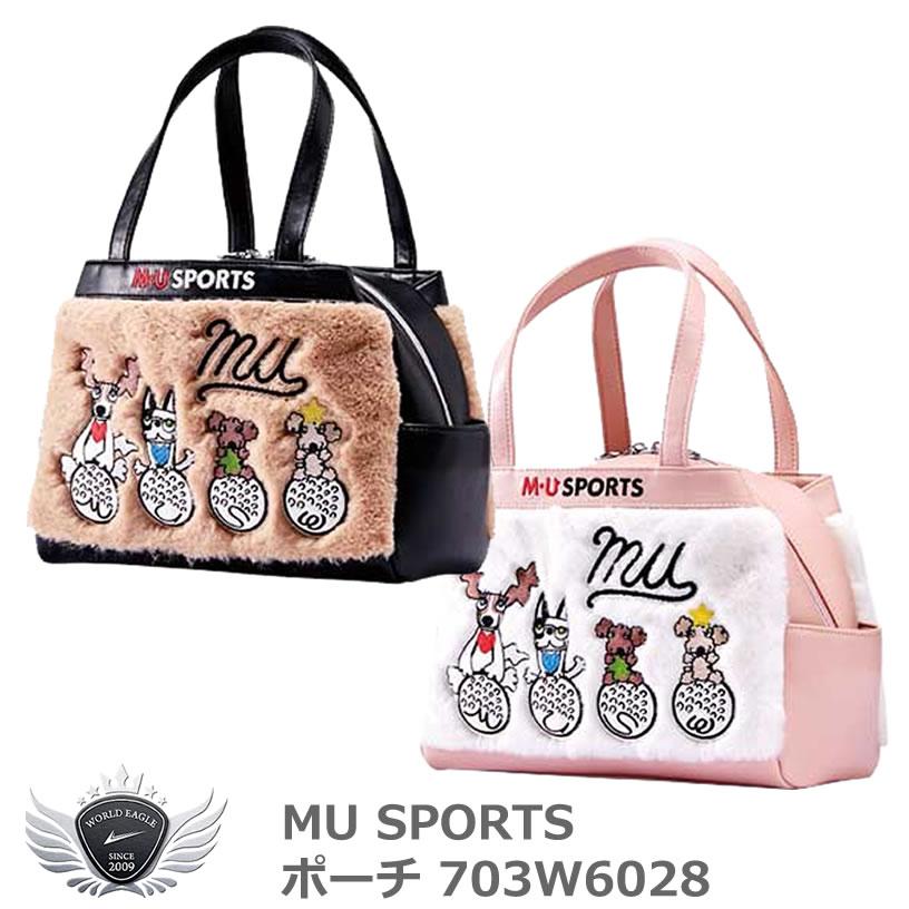 MU SPORTS エムユースポーツ ポーチ 703W6028