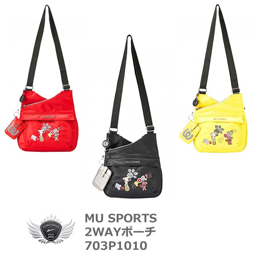 MU SPORTS エムユースポーツ ポーチ 703P1010 ミエコ・ウエサコ